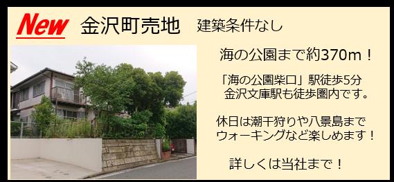 金沢町 売地 海の公園 金沢文庫 八景島